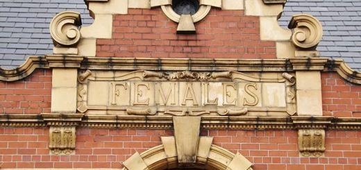 CC-BY Karen Cropper One of entrances to Victoria Baths Manchester